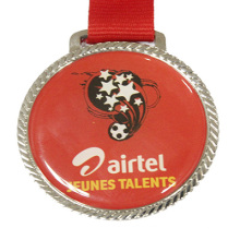 Wholesale Printed Football Medal (LM10050)