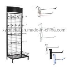 Ganchos de suspensão de grade para grade de metal Gridwall Paneldisplay Stand Rack
