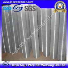 Galvanized Square Wire Mesh Filter Screen