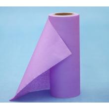 Спанлейс нетканый рулон ткань