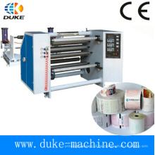 Automatische Papierschneid- / Rückspulmaschine
