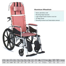 High Backrest Aluminum Wheelchair