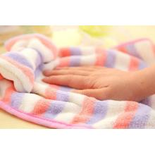 Warp Knitting Microfiber  Coral Fleece Towels