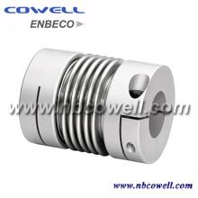 Acoplamiento de tubo corrugado de acero inoxidable