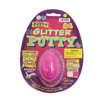 Glitter Silly Putty Toys in Plastic Egg