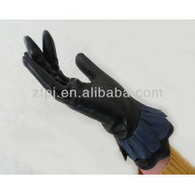 New Style Skirt edge Gloves Leather