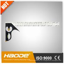 Herramienta de medición / Herramienta de análisis / Plaza de combinación de aluminio