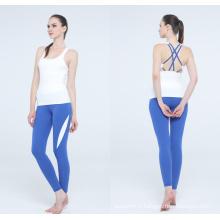 Goldenpalm Apparel Inc Plaid teint Sexy Yoga Set personnalisé pour Dame