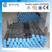 "2 3/8""/ 2-7/8"" 3-1/2 ""/ 4 1/2"" DTH Drill Pipe/haste com chave plana"