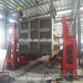Automatic CNC tipper panel welding machine,for dumper trailer