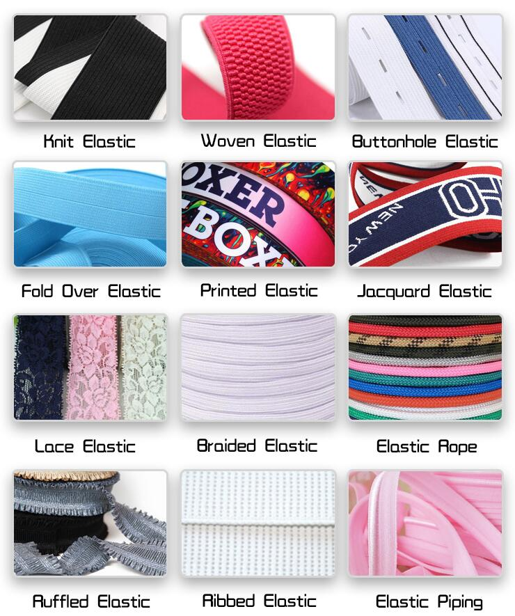 braided hair elastics
