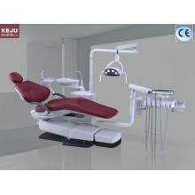 Стоматологическое кресло со светодиодной сенсорной лампой со скалером и светоотверждением