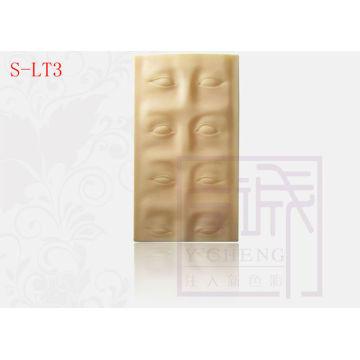 3-D Eye Brow hoja de práctica de alta calidad de piel de maquillaje permanente