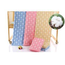 Algodão Swaddle Blanket, Musselina Swaddle