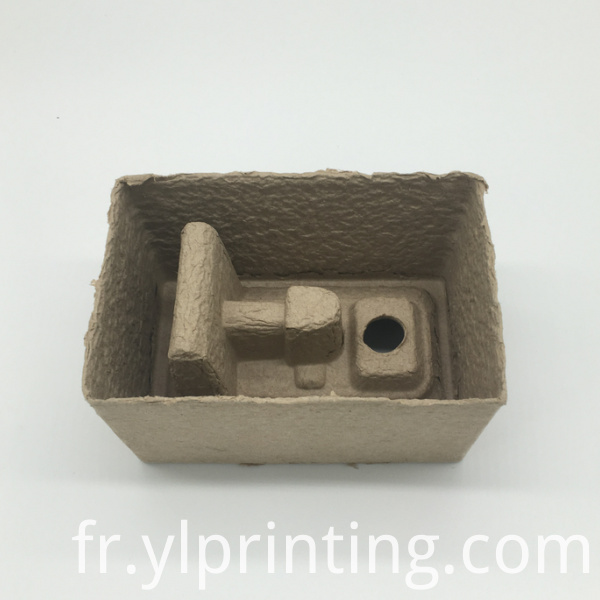 Yellow Paper Pulp Tray