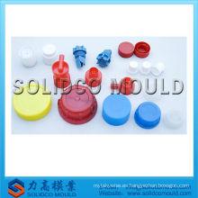 Molde de inyección de plástico de tapa de botella de aceite