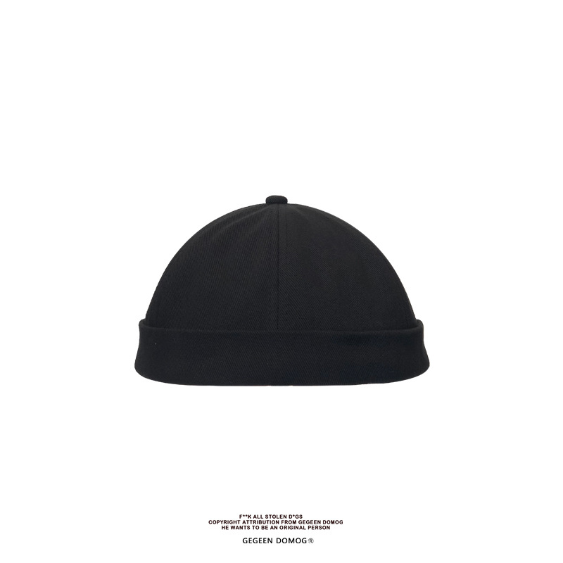 Autumnwinter yuppie hat hooligan beanie hat (6)