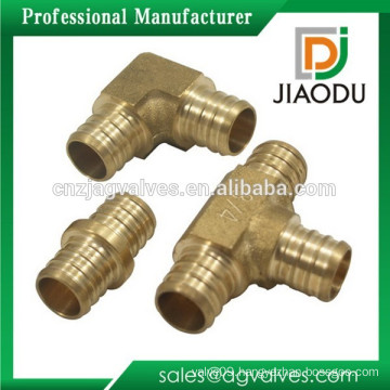 Top quality 1130 Brass Fitting for pex pipe fitting / DZR CW602N brass pipe fittings