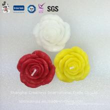 Красочный Цветок Розы В Форме Искусства Свечи