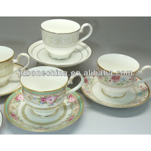 uniqe design new arrival hot sell royal Saudi Arabia style bone china porcelain cup made in china