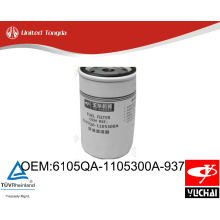 6105QA-1105300A-937 engine YC6015 fuel filter for Chinese truck