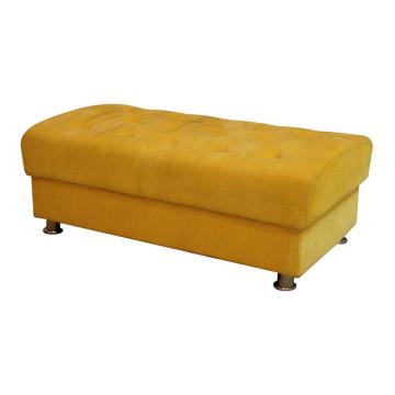 Banc jaune pour les meubles d'hôtel