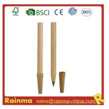 Caneta esferográfica de bambu de madeira para artigos de papelaria Eco 633