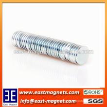 Hochwertiger Seltenerd-Kühlschrank-Druckmaschine-Motor NdFeB Magnet / kundenspezifischer Hochleistungsneodym-Magnet für Verkauf