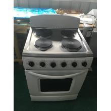 Placa eléctrica de 4 quemadores con horno eléctrico