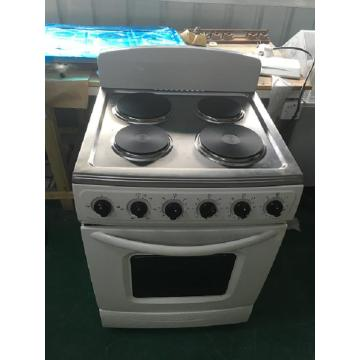 Plaque chauffante électrique à 4 brûleurs avec four électrique