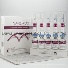 Cirugía plástica Nanomax Tationil vitamina C y glutatión inyección
