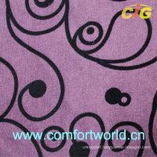 Flocking Sofa Fabric