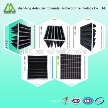 High Temperature Nonwovens durable in use Active carbon fiber felt, Active carbon air filter, Active carbon filter cloth