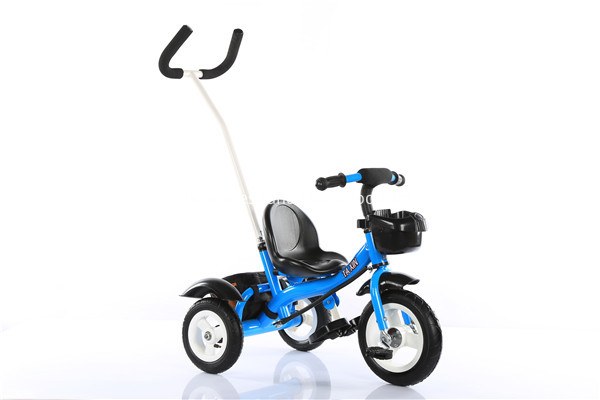 blue color baby tricycle