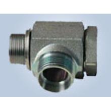 Conexiones de tubo tipo mordida de rosca métrica Reemplace las conexiones de Parker y las conexiones de Eaton (BANJO METÁLICO DIN 7642)