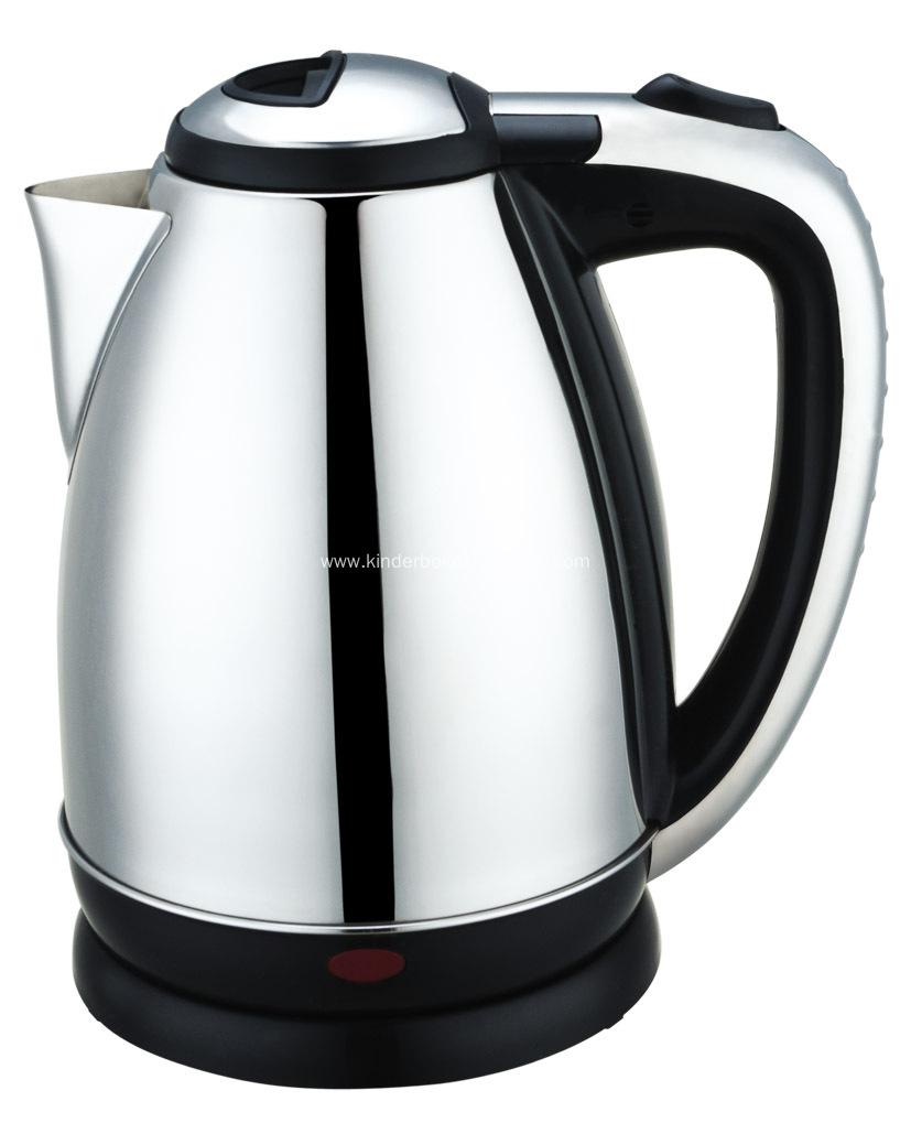 Stainless Steel Hot Water Kettle with safety device