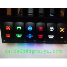 Interruptor de balancim das luzes da rocha 2014 & interruptor do balancim de Arb do Manufactory
