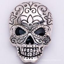 Оптовые Blacken завод цинковый сплав брошь черепа ювелирные изделия моды