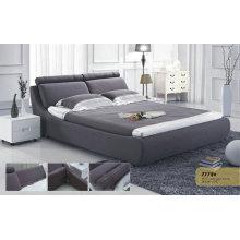 Cama de tela moderna de muebles de dormitorio (777B)