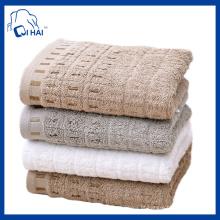 Toalha de rosto de algodão puro europeu (QHEP660)