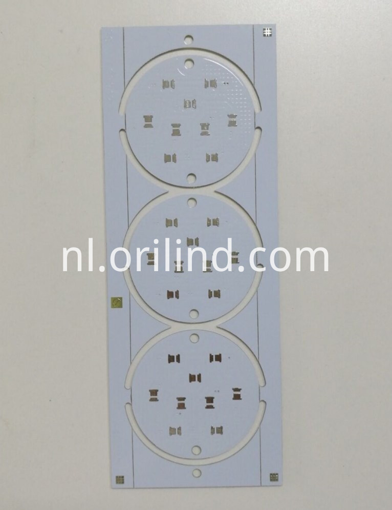 White colour circuit board