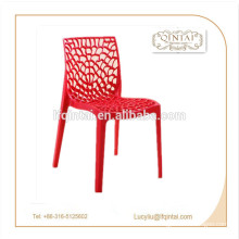 colorful Plastic waitting/leisure/buffet/party chairs with holes