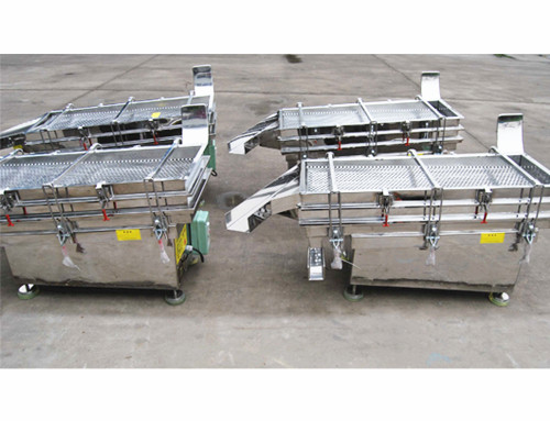 Square Vibrating Separator for Pesticide Industry