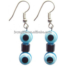 Magnetic Hematite Plastic Eye's Beads Earrings