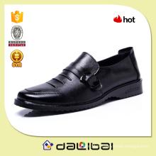 2015 O melhor preço muitos estilos MOQ preto barato sapatos de couro formais homens