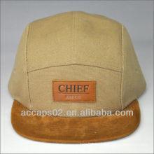 Sombreros de 5 paneles personalizados al por mayor