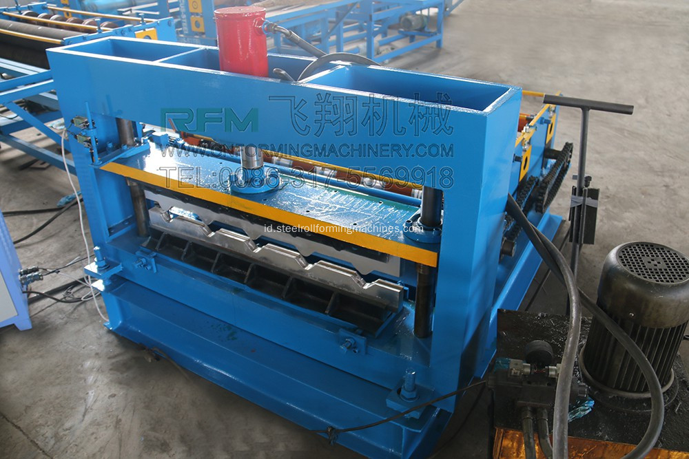 Crimping Roll Rolling Machine