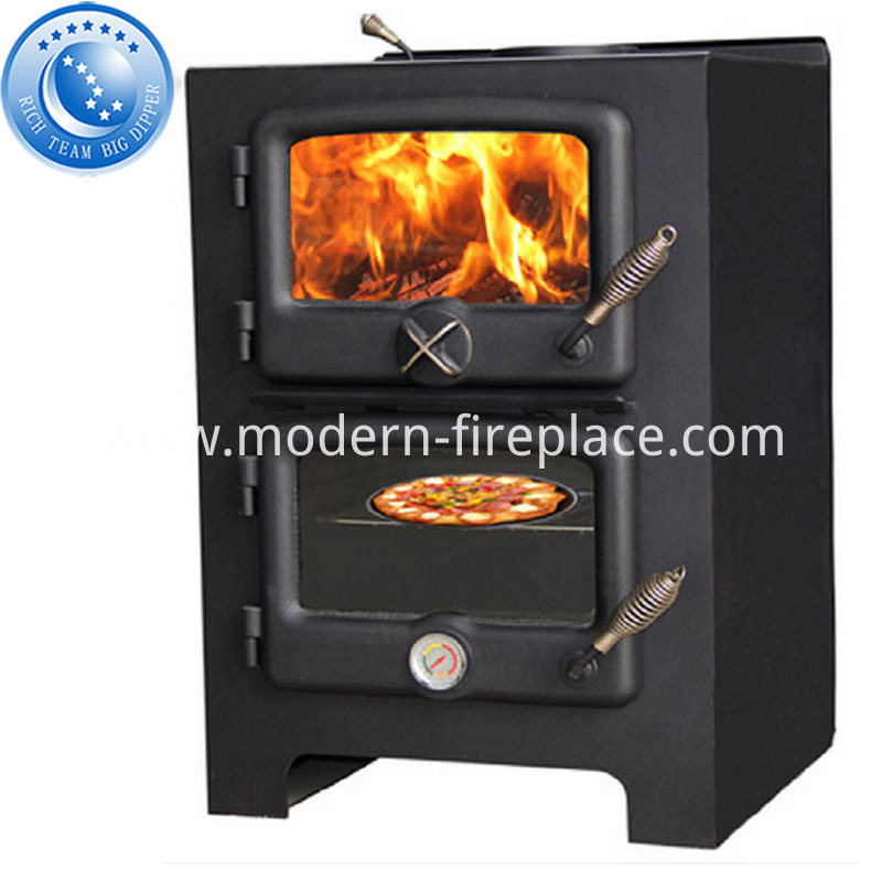 Contemporary Wood Cooker Fire Stoves Factory