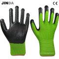 Black Nitrile Work Gloves (U208)