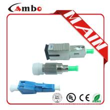 Atenuador óptico 5db de la fibra LC UPC de la fibra LC de la alta calidad